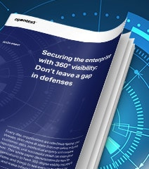 Securing the enterprise with 360 visibility thumbnail