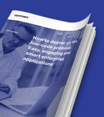 OpenText Low code promise white paper